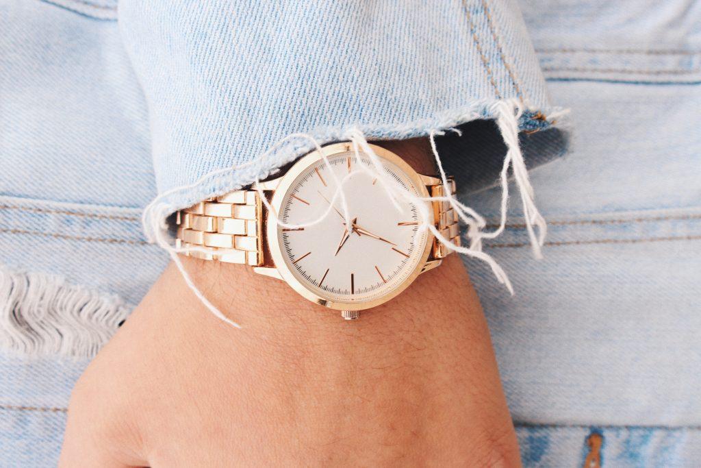 kobieta zegarek